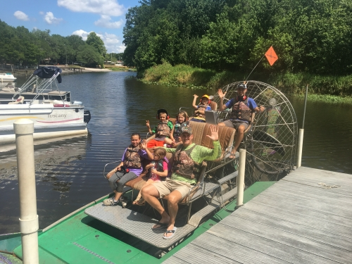 Alligator Airboats