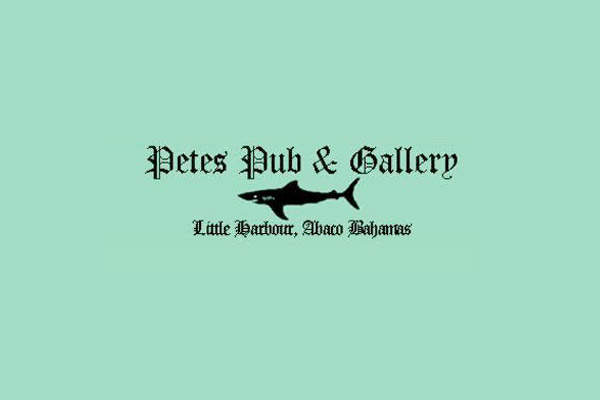 Petes Pub & Gallery at Little Harbour, Abaco Bahamas