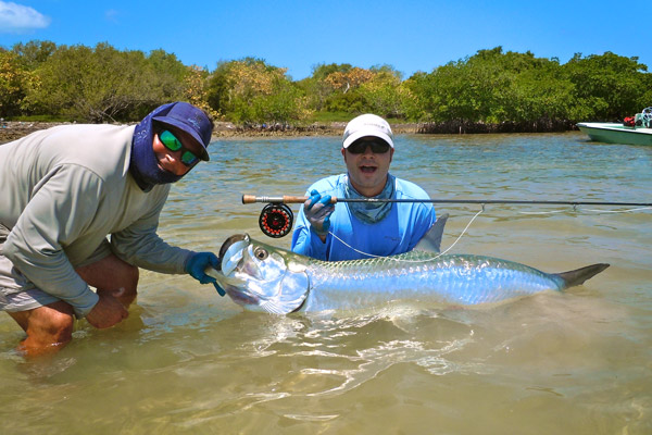 Guy harvey outpost resort florida tarpon tango for Lake tarpon fishing