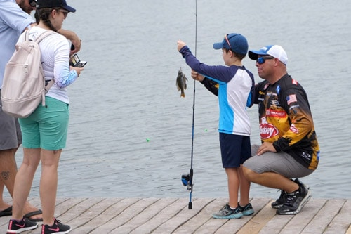 Bobby Lane's Kids Fishing Clinic
